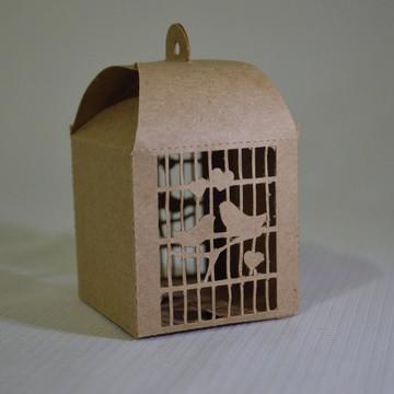 #465- Arquivo de corte Gaiola passarinho 02