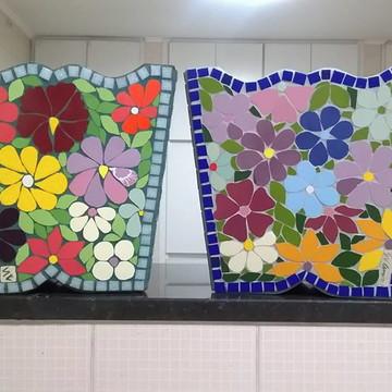 Cachepot em mosaico - tamanho grande