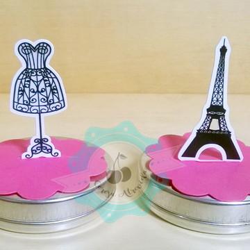 Topper 3D - Tema Paris