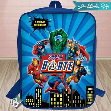 Mochilinha Vip Super Heróis