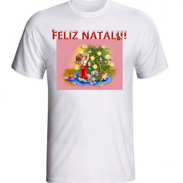 CAMISETA NATALINA