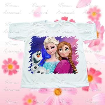 Camiseta divertida Frozen 1