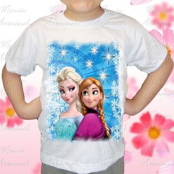 Camiseta divertida Frozen 17