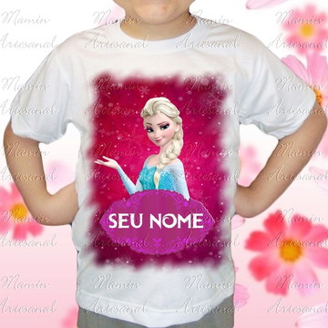 Camiseta divertida Frozen 22