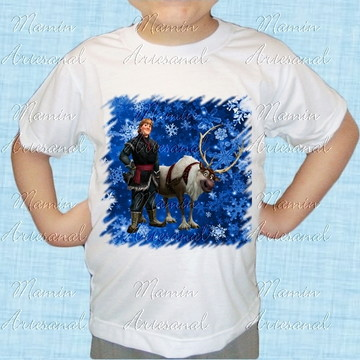 Camiseta divertida Frozen 30