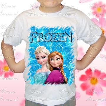 Camiseta divertida Frozen 35
