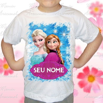 Camiseta divertida Frozen 36