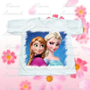 Camiseta divertida Frozen 43