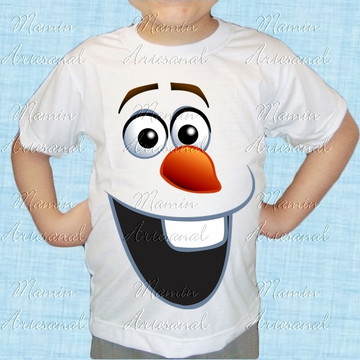 Camiseta divertida Frozen 45