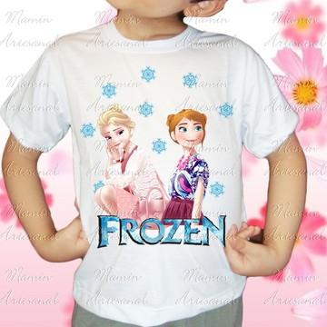 Camiseta divertida Frozen 65