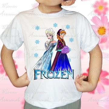 Camiseta divertida Frozen 68