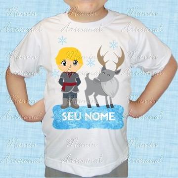Camiseta divertida Frozen 74