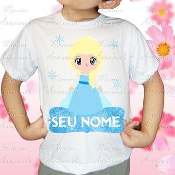 Camiseta divertida Frozen 75