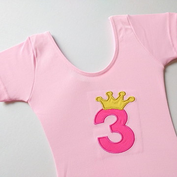Collant Princesa Rosa 3 anos