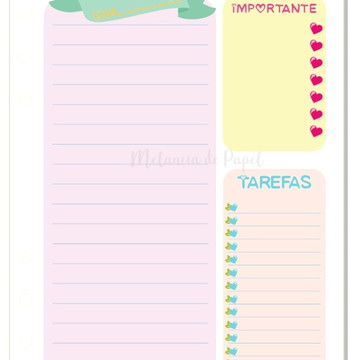 Insert Planner (Personal)-Colors