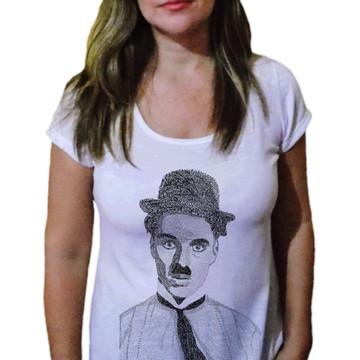 Camiseta Feminina Chaplin 17