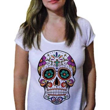 Camiseta Feminina Caveira 1