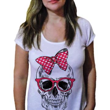 Camiseta Feminina Caveira 3
