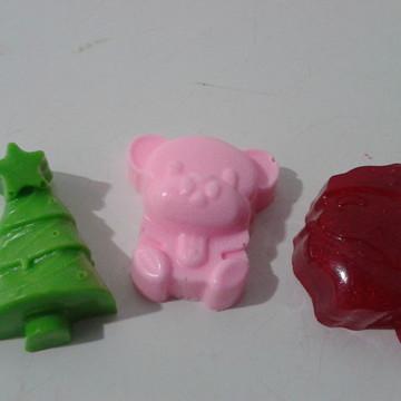 sabonete natal kit com 3