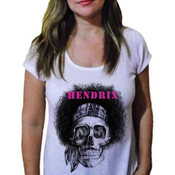 Camiseta Feminina Caveira 7