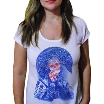 Camiseta Feminina Caveira 15