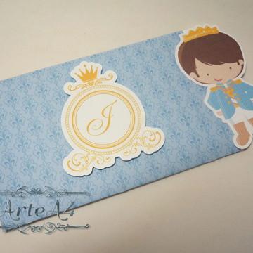 Convite Infantil Principe