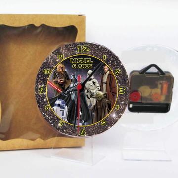 Star Wars Relógio Centro De Mesa