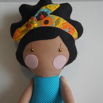 Boneca Serelepe Morena