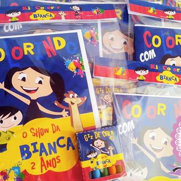 Kit de Colorir Show da Luna
