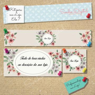 Kit Loja Elo 7 Flores