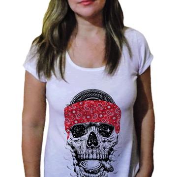 Camiseta Feminina Caveira 29
