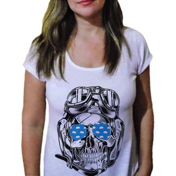 Camiseta Feminina Caveira 31