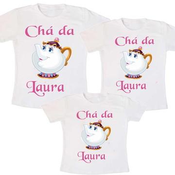 Camiseta Chá de Bebê Personalizada