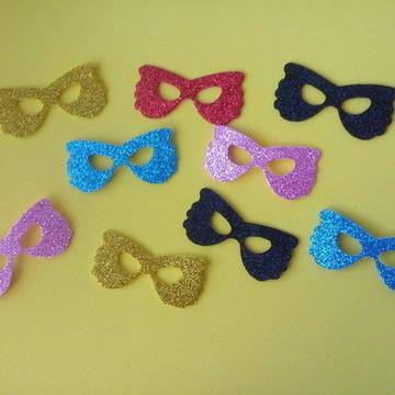 Aplique mini máscara carnaval