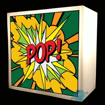 Luminária Abajur Led Criativa Pop