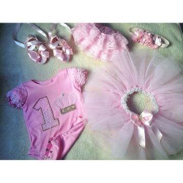 Kit Princesa Luxo Completo 5 Peças