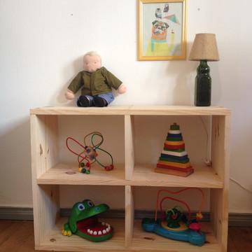Estante/nicho Montessori