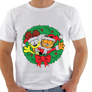 Camiseta Natal Personagens