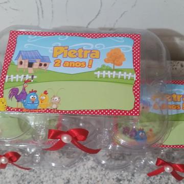 Caixa de Ovos de plastico