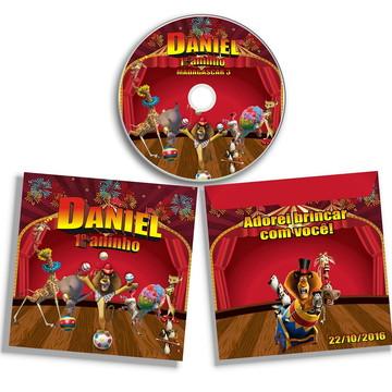 Dvd ou Cd Madagascar Circo