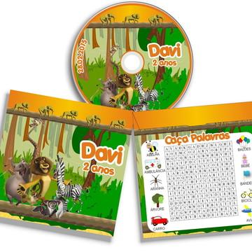 Dvd ou Cd personalizado Madagascar
