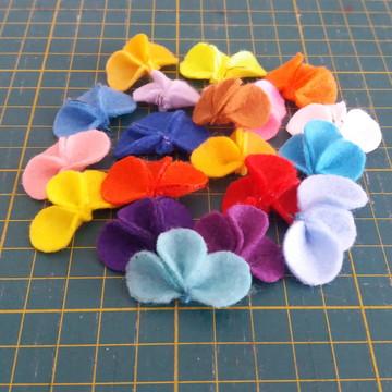 Micro Flores de Feltro