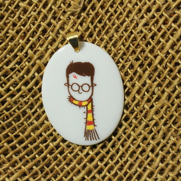 Pingente de Porcelana Harry Potter