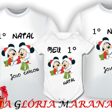 KIT NATAL MICKEY E MINNEI