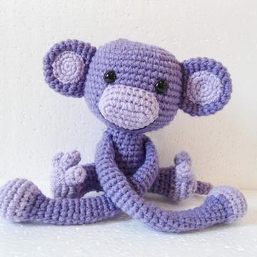 Amigurumi Macaco de Cortina (Monkey)