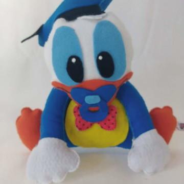 Pato Donald em feltro turma disney baby