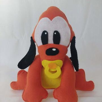 Pluto em feltro turma disney baby