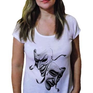 Camiseta Feminina Arte Cênica - O Teatro