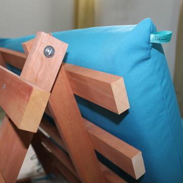 Base articulada de madeira