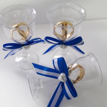 Lembrancinha Tacinha com 50 - Azul Royal